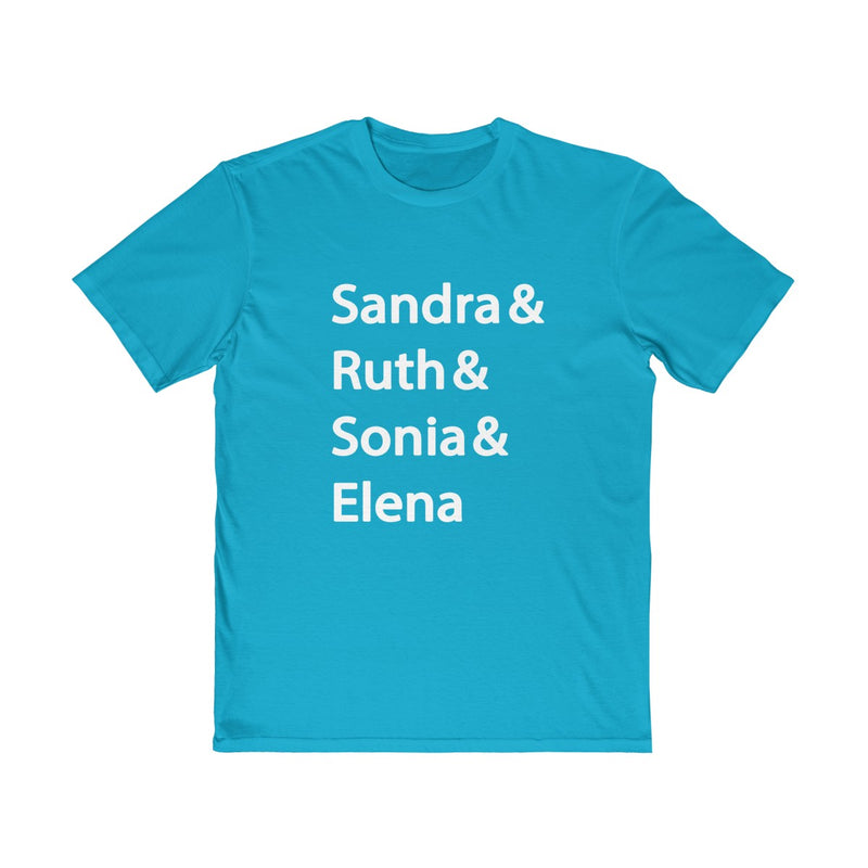 Sandra Ruth Sonia Elena Women Of The Supreme Court Unisex T Shirt