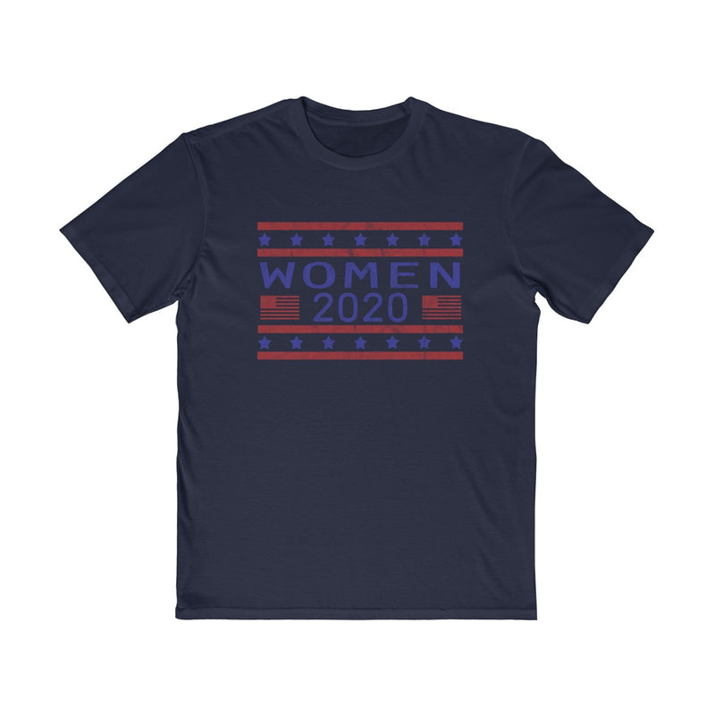 Women 2020 | Unisex T Shirt | Blue and Red Distressed