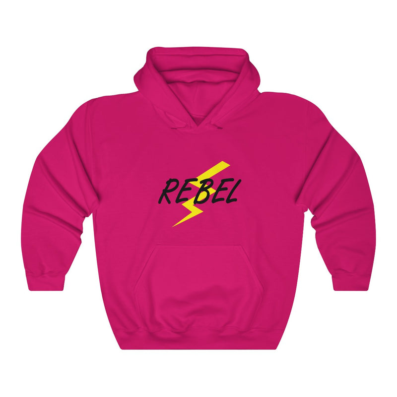 Rebel With Lightning Bolt Unisex Hoodie