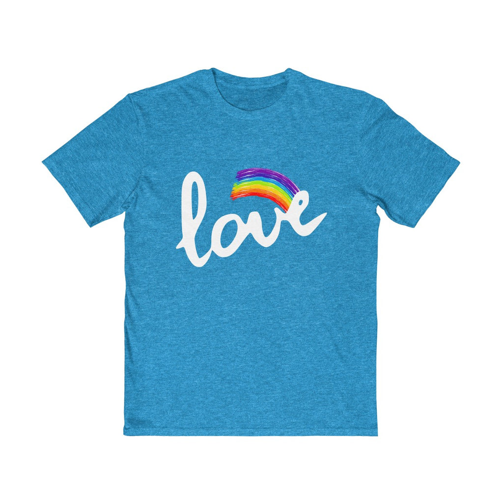 Love With Rainbow  Unisex T Shirt