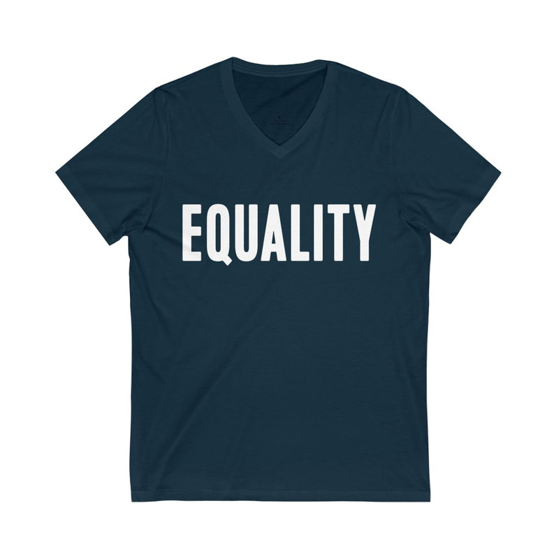 EQUALITY V-Neck Unisex T Shirt