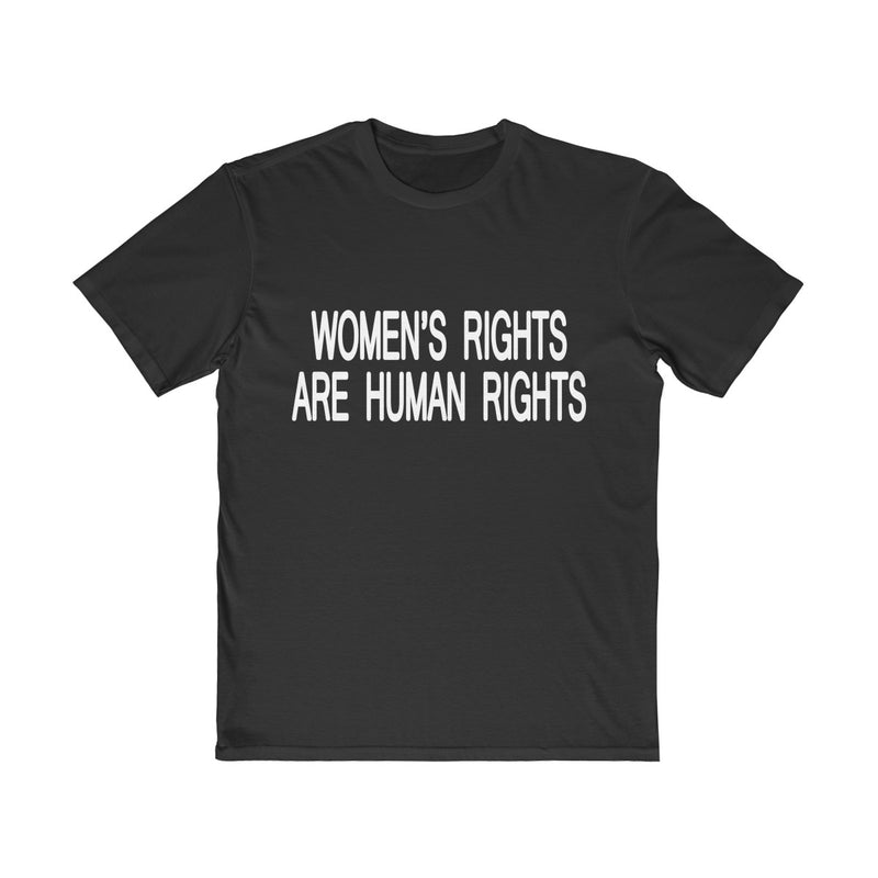 women's rights are human rights unisex t shirt