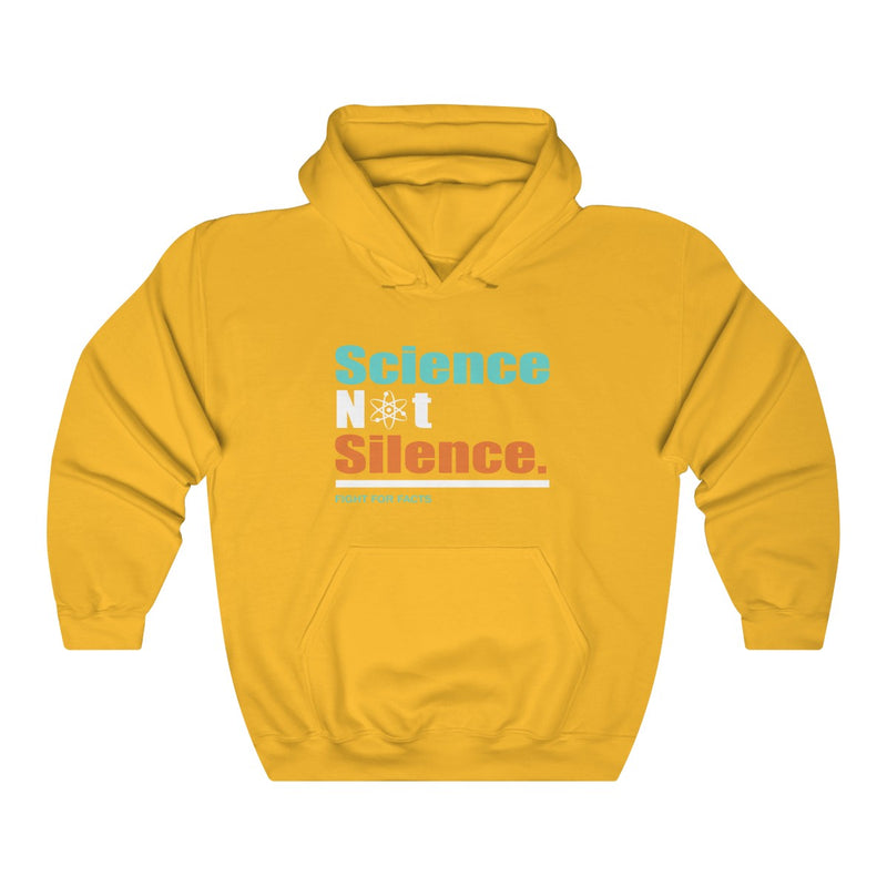 zScience Not Silence Fight For Facts | Unisex Hoodie