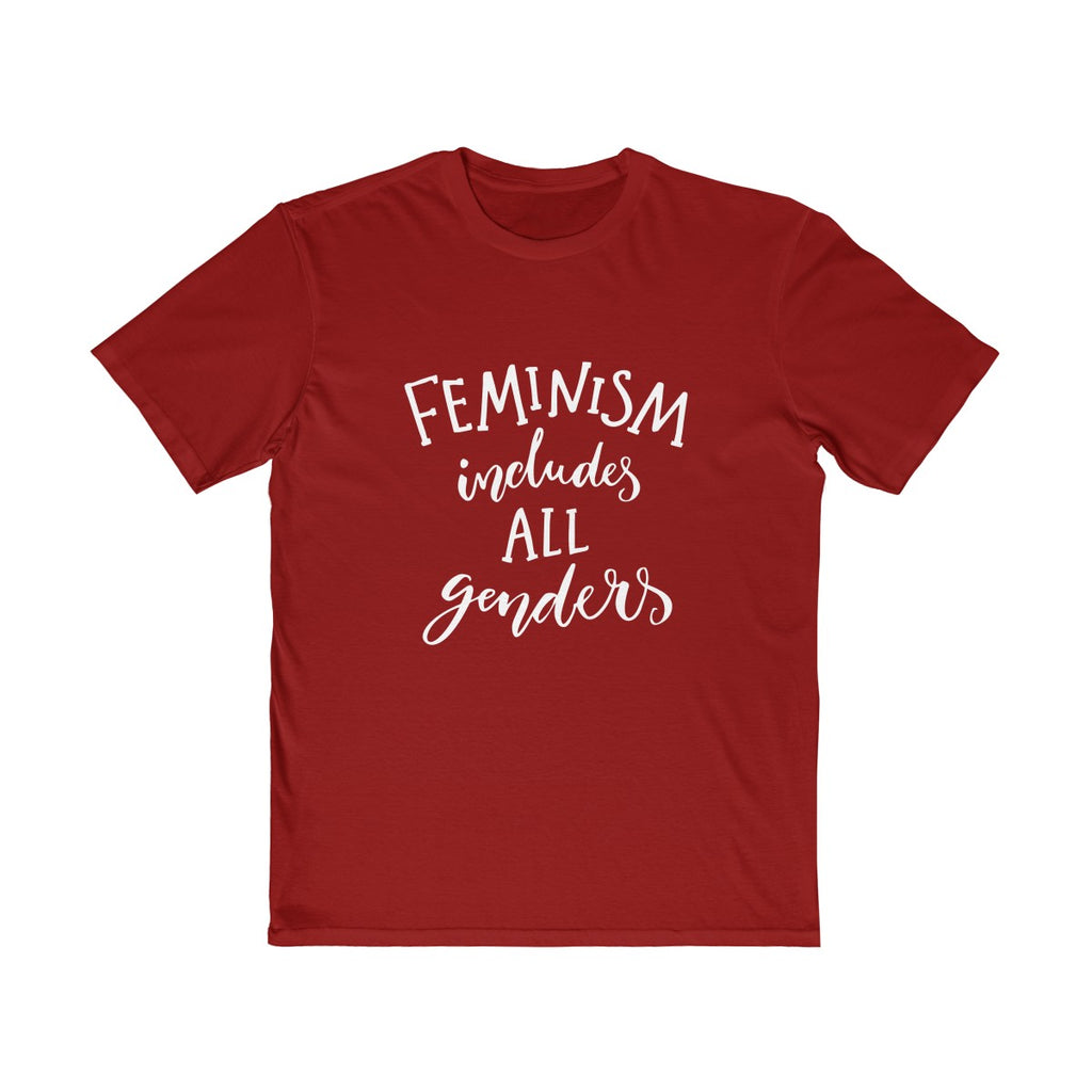 Feminism Includes All Genders Unisex T Shirt