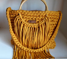 Load image into Gallery viewer, Large Rosa Tassel Tote Bag