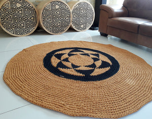 3rd XL version of African Sun Rug