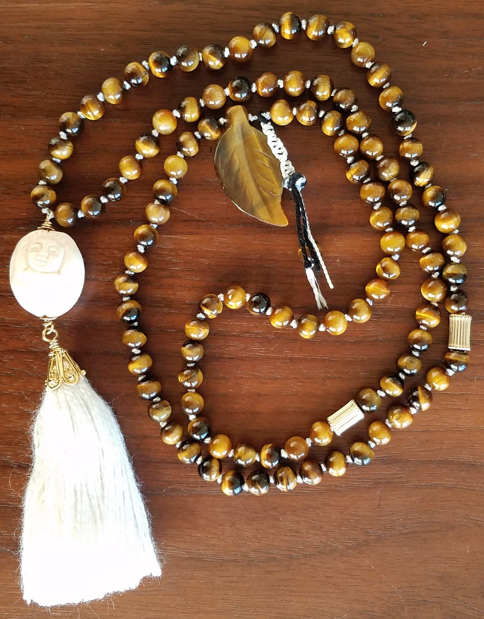 SOLD: Tiger's Eye and Gold