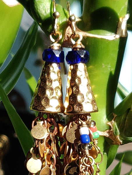 Golden Spirit Earrings