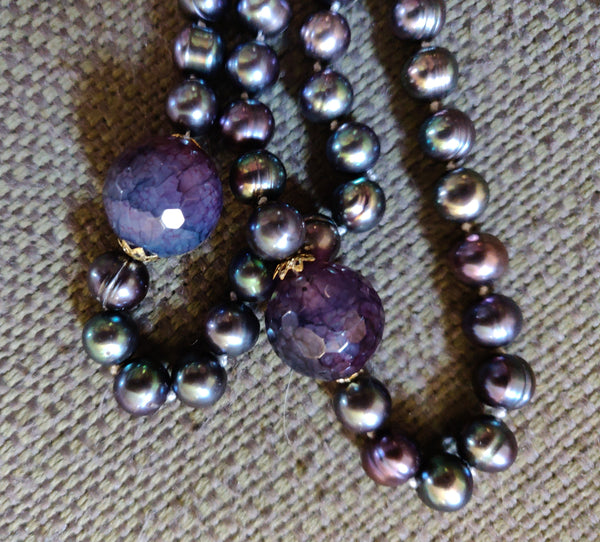 Serenity Mala (Has Matching Earrings and Inspiration Necklace)