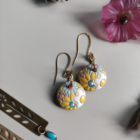 Mod Flower Earrings