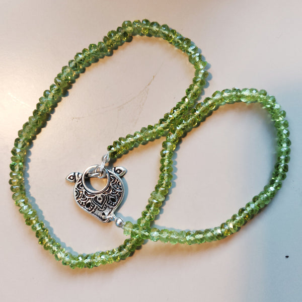Inspiration Necklace: Peridot