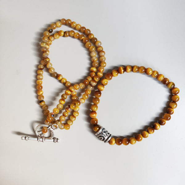 Inspiration Necklace: Tiger's Eye