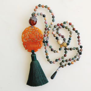 Flower Basket Mala