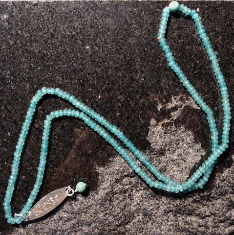 "Inspiration Necklace: New Jade ""Blessed"""