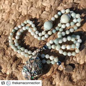 Mother of pearl/ Tree of Life Mala