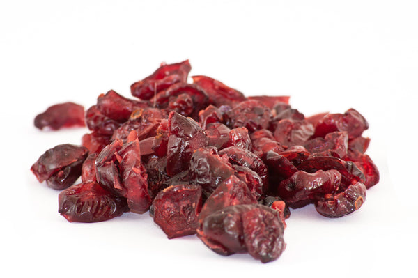 Cranberries, dried, sweetened