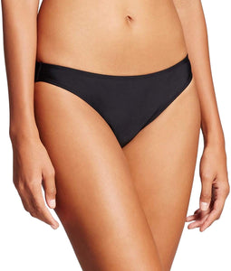Xhilaration Women's Cheeky Bikini Bottom | Medium | Black