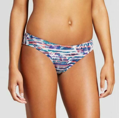 Mossimo Women's Hipster Bikini Bottom | Medium | Teal Multi