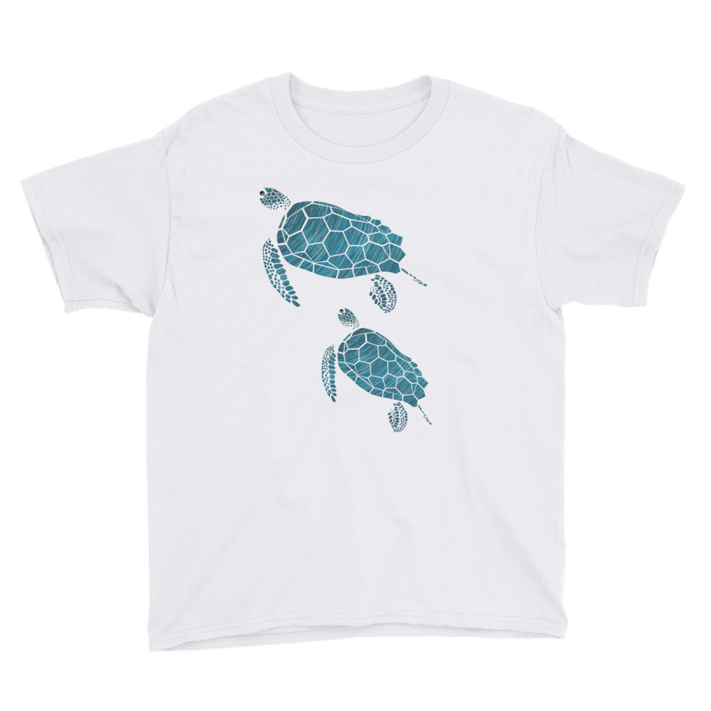 da0e343d2 ... Load image into Gallery viewer, I Like Turtles T-shirt - Youth ...