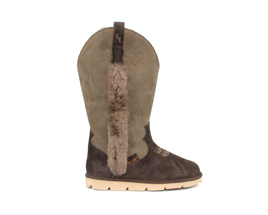 Cowboy Boot - Brown