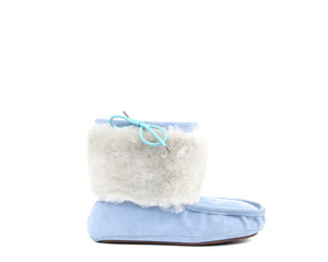 Moccasin Boot - Light Blue