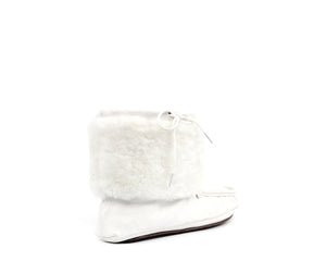 Moccasin Boot - White