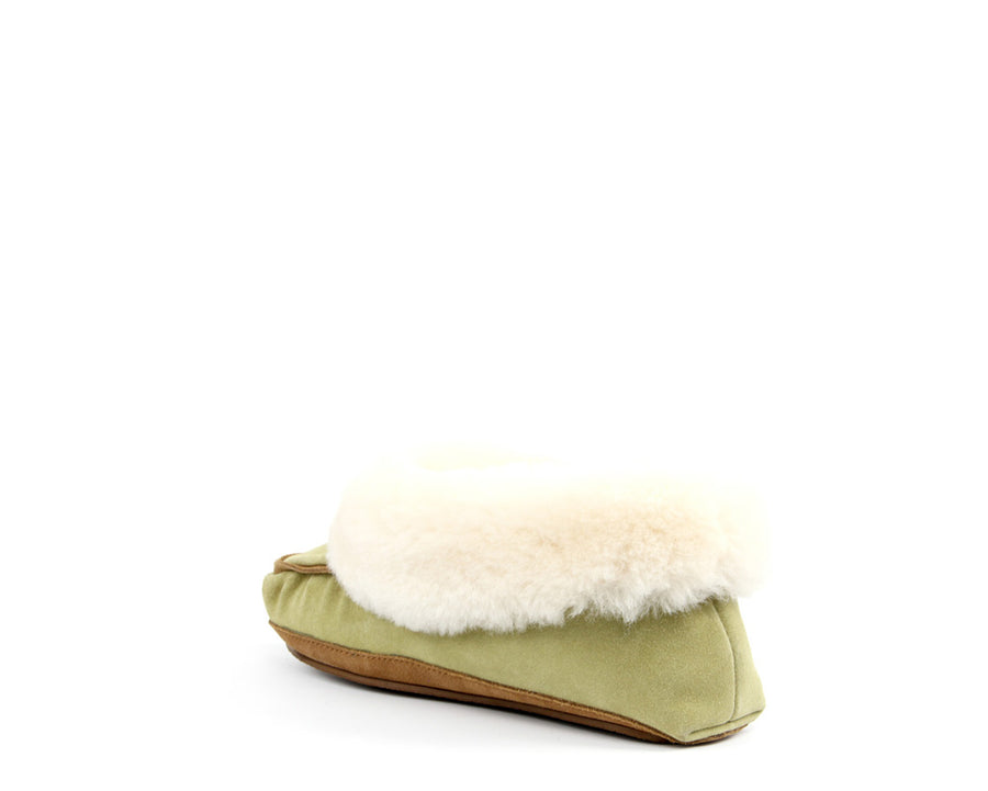 Moccasin - Faded Green