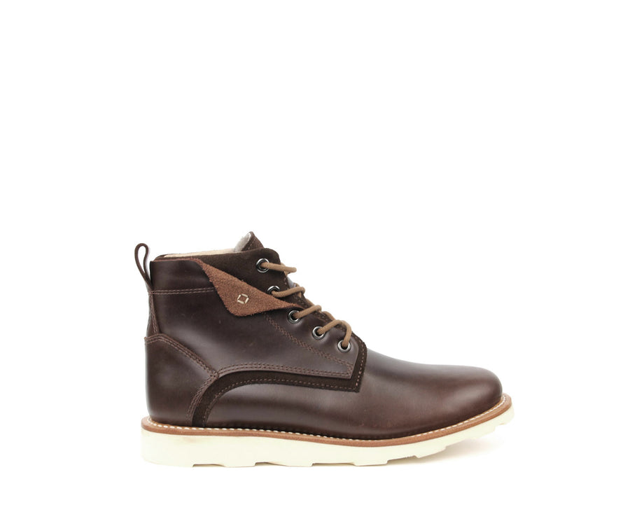 Makan Desert Boot - Black Cherry