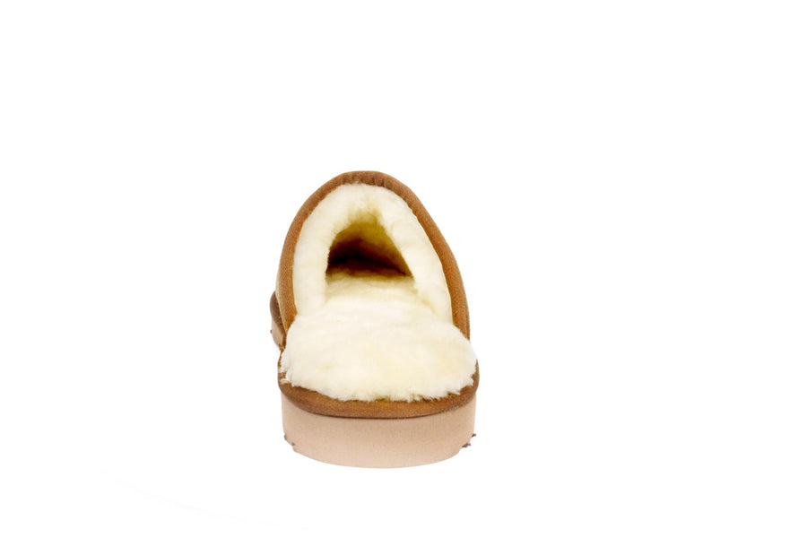 SLIDE SHEEPSKIN SLIPPER