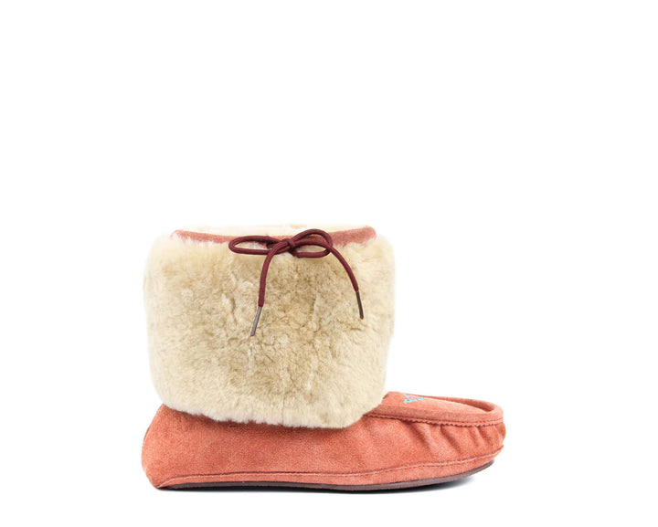 Moccasin Boot - Faded Red