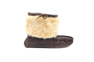 Moccasin Boot - Chocolate