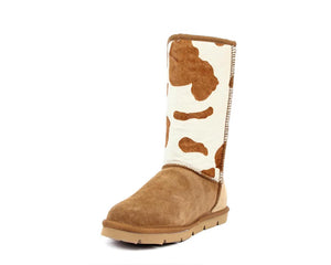Turano 11in Boot - Tan/Cow