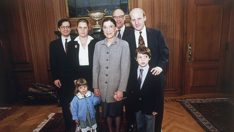 Ruth Bader Ginsburg and family