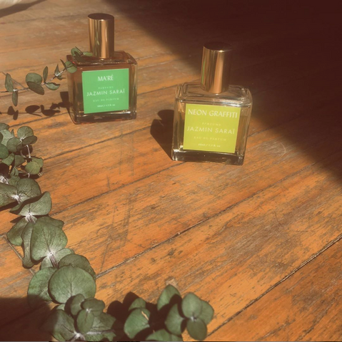 montreal-made perfumes with eucalyptus branch