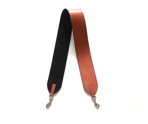 Leather strap for Meletti bag in Tan