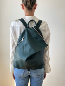 The Mercato Backpack in Green
