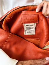 Load image into Gallery viewer, The Meletti bag in Mandarin Orange