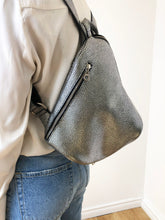 Load image into Gallery viewer, The Mercatino Backpack in Silver