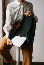 Load image into Gallery viewer, The Mercato Backpack in Pine Green