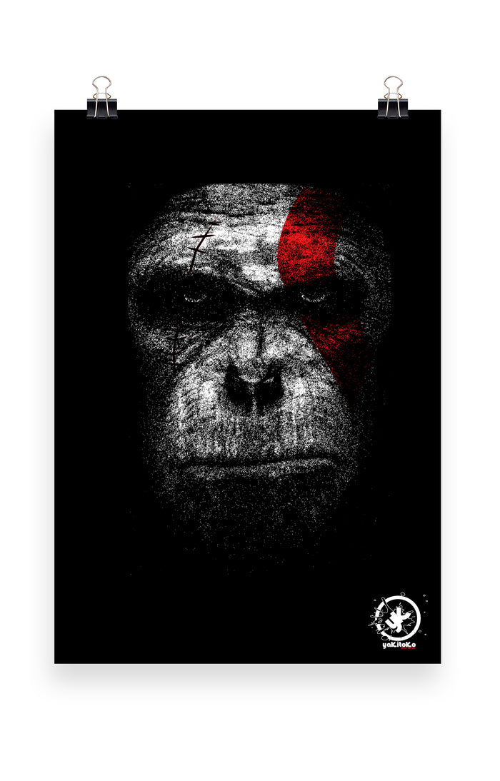 Ape of War Prints