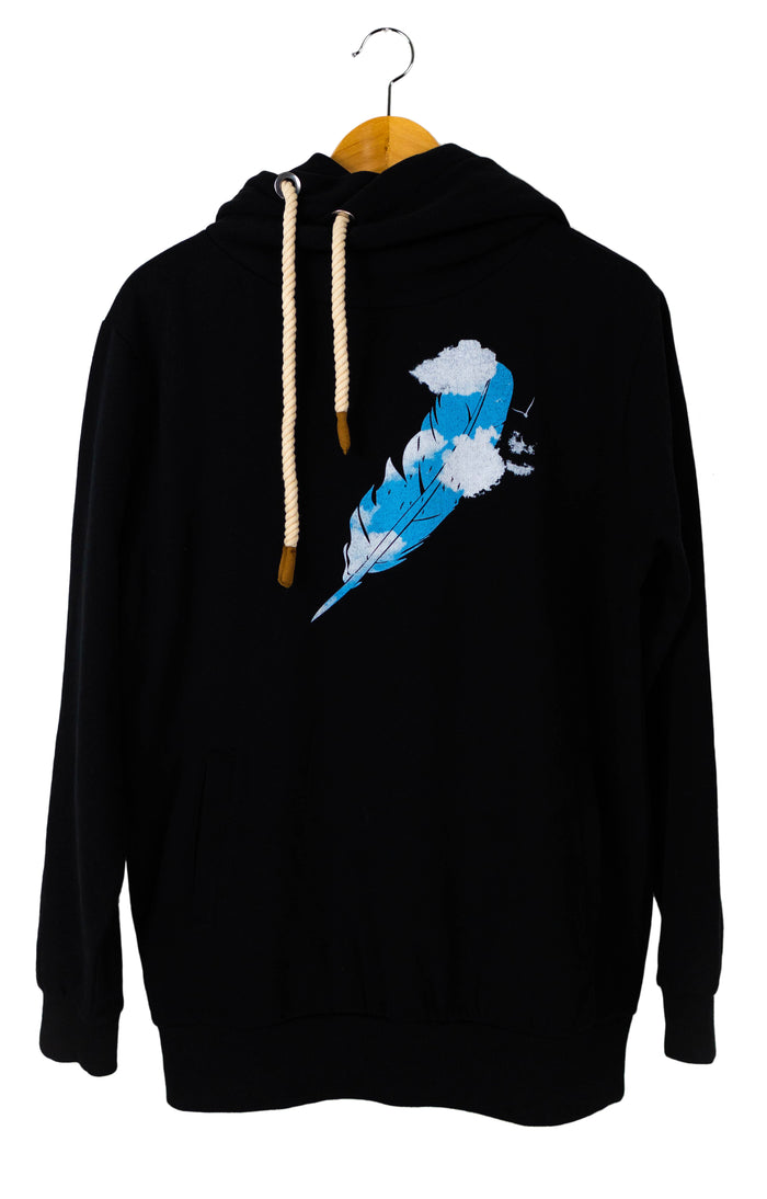 Feather  Hoodie