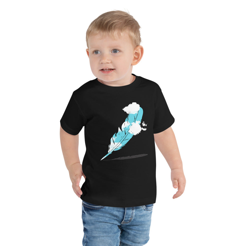 Feather Toddler Short Sleeve Tee