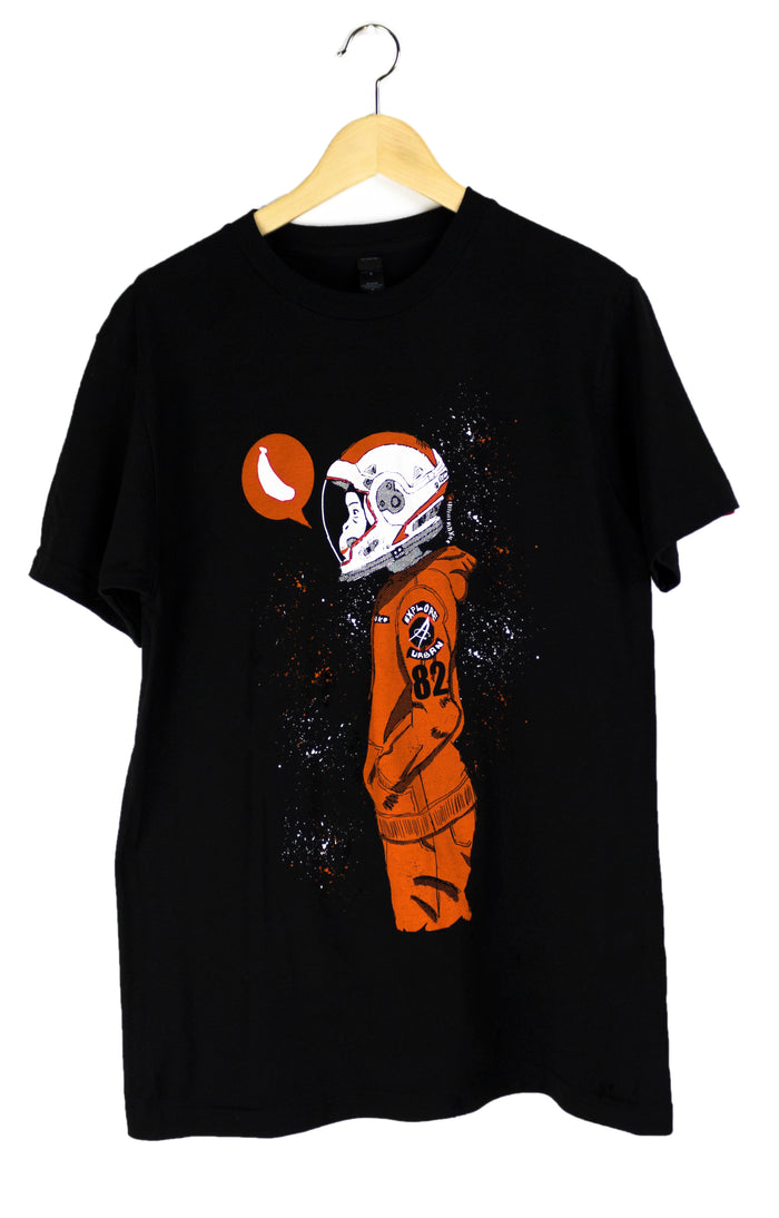 Urban Space Monkey T-Shirt (Black)