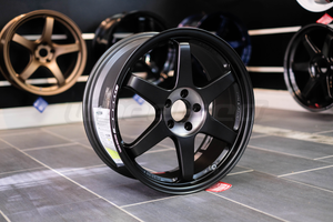 RAYS Volk Racing TE37SL Black Edition II 19x8.5 Euro