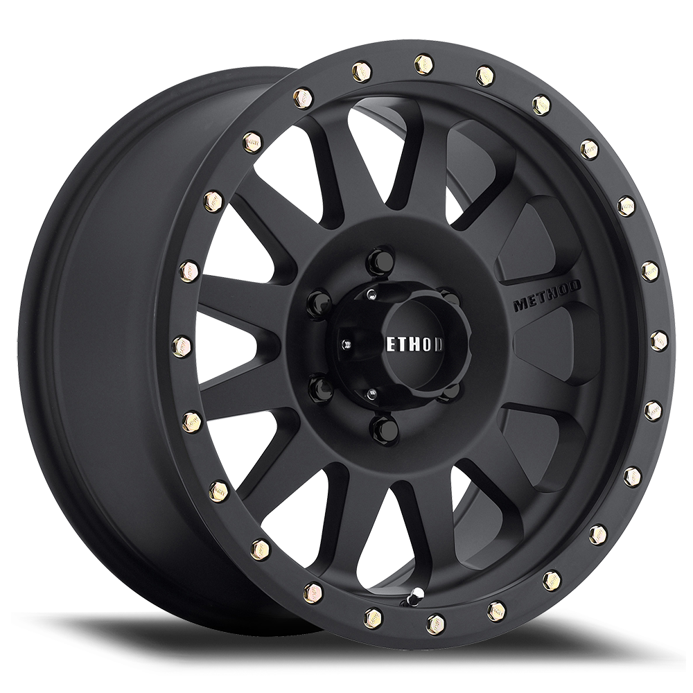 Method Race MR304 Matte Black