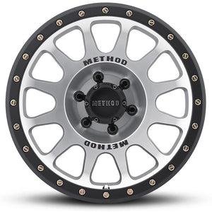 Method Race MR305 NV Machined Black Street Loc