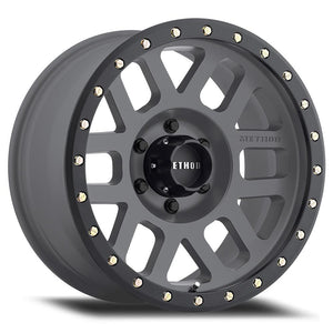 Method Race MR309 Grid Titanium Black Street Loc