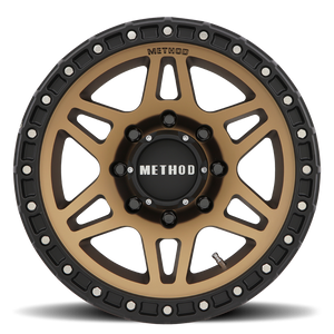 Method Race MR312 Method Bronze Black Street Loc 8 lugs