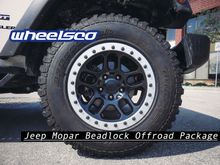 Load image into Gallery viewer, Jeep Mopar Beadlock Offroad Package