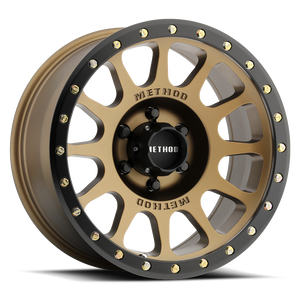 Method Race MR305 NV Method Bronze Black Street Loc